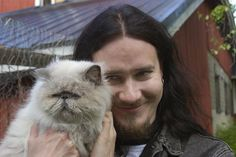 Fave men with cats - Tuomas Holopainen - Nightwish