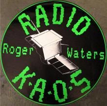 Roger Waters 1987 'Radio KAOS' Promotional Music Poster
