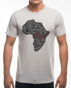 Be The Change Africa Poly Cotton Crew – Sevenly