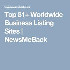 Top 81+ Worldwide Business Listing Sites  |  NewsMeBack