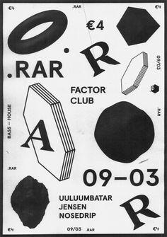 Poster for .RAR by Josse Pyl, Stef Michelet, Timo bonneure