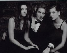Tatiana Santo Domingo, Andrea and Charlotte Casiraghi