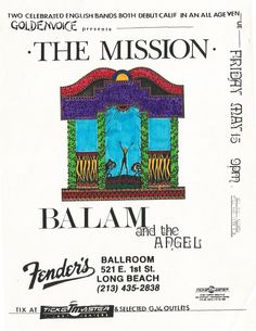 The Mission - 1987 - Southern California