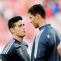 Who is better James or Ronaldo Like or comment ⚽️