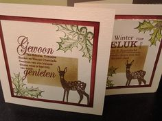 Halloween Christmas, Christmas Cards, Holiday Gift Tags, Winter Cards, Card Tags, Four Seasons, Different Colors, Deer, Valentines