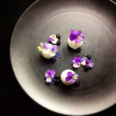 Blueberries, yogurt and violets - elegant and creative dessert by @leinonenhanna ⭐️⭐️⭐️⭐️ Do you have a culinary passion? Join us on cookniche.com and share with us your recipes, photos, blogs, videos...