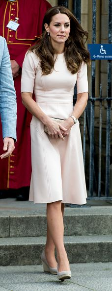 Catherine Duchess of Cambridge visits Truro Cathedral on September 1 2016 in Truro United Kingdom