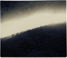 Albarrán Cabrera / Japan, 2015. Darkroom collage #3021Cyanotype over platinum print.