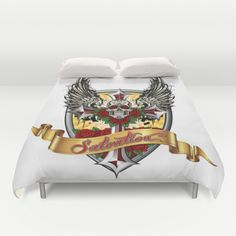 ART IS SALVATION - Duvet Cover by Angel Torres - $89
