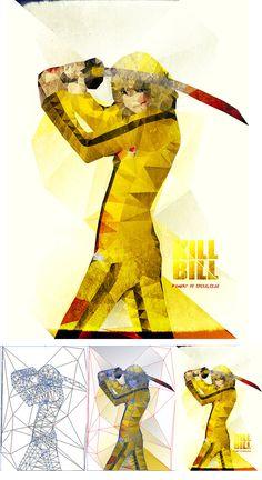 Kill Bill Serial Art, Kill Bill Vol 1, Cinema Posters, Movie Posters, Superhero Poster, Nerd Art, Art Thou, The Best Films, Quentin Tarantino