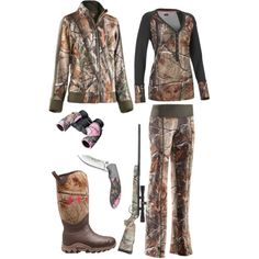 Hunting in Under Armour by hotcowboyfan on Polyvore