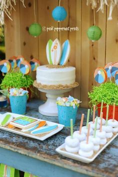 teen beach movie party decorations - Google Search