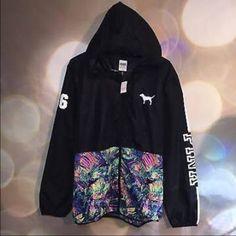 VS Pink Windbreaker ✌️ PINK Victoria's Secret Jackets & Coats