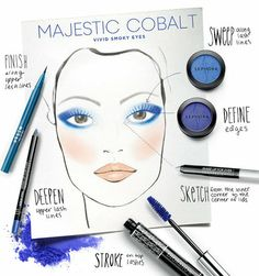 Sephora - MAKING FACES: MAJESTIC COBALT