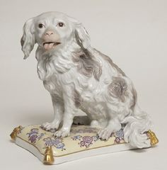 "Figurin, ""Wachtelhund"" 