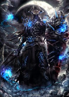 Fate/Grand Order, The Old Man of the Mountain, Fate/Grand Order / 山の翁 - pixiv Monster Concept Art, Fantasy Monster, Monster Art, Demon Art, Anime Demon, Fantasy Armor, Dark Fantasy Art, Fantasy Creatures, Mythical Creatures