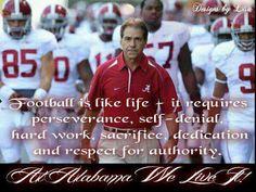 At Alabama We Live It!!