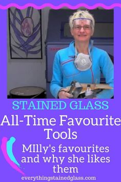 Over the years I have tried and tested lots of stained glass tools and these are the ones I have settled on as my favourites for making stained glass. Stained Glass Studio, Stained Glass Church, Making Stained Glass, Stained Glass Birds, Faux Stained Glass, Stained Glass Designs, Stained Glass Panels, Stained Glass Projects, Stained Glass Patterns