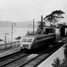 Vintage Travel, Bugatti, Cannes, Trains, Automobile, Car, Motor Car, Autos, Train