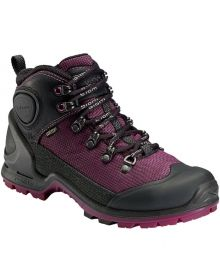 ECCO- BIOM Terrain Lite Boot Womens  - Black/Fuchia 40