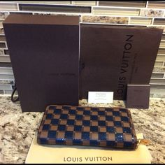 Louis Vuitton blue paillettes zippy wallet This is a beautiful authentic Louis Vuitton limited edition 2013 that is retired. The blue sequins sparkle. This is in excellent condition. No stains or missing sequins. Comes with box, bag, dust cover , tag and care booklet. Louis Vuitton Other