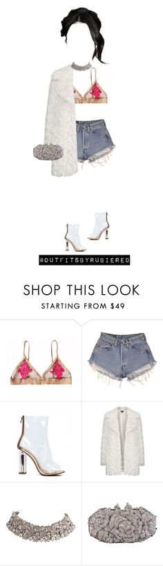 """""""Diamonds."""" by outfitsbyrubiered ❤ liked on Polyvore featuring Levi's, Topshop and Otazu"""
