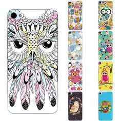 For Meizu U20 Shell For Meilan U20 Phone Case 5.5 Inch Transparent Ultra Thin Back Cover Silicon Owl Pattern Fundas