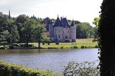 Château de La Verrerie  (Cher) . Centre