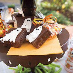 #Halloween--Chocolate Ghost Cakes | MyRecipes.com