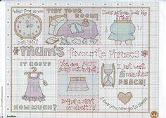 Mum's The Word (Margaret Sherry) From Cross Stitcher N°184 March 2007 3 of 4
