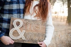 Together (me & you) String Art by FORTHELOVECO on Etsy https://www.etsy.com/listing/228034473/together-me-you-string-art