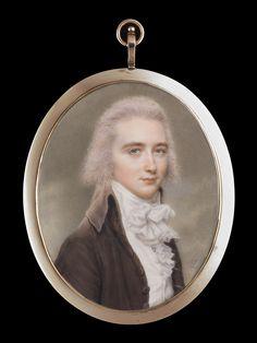 Young Gentleman in a Brown Coat, John Smart (1742/3-1811)