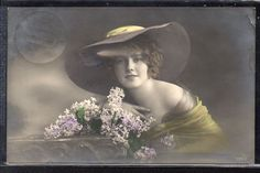 FW089 Edwardian Lady Femme Mode Chapeau Fashion HAT Photo D'ART | eBay
