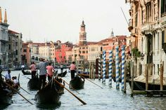 The Grand Canal - Venice,  Italy http://hitherandthither.net/2015/10/12/where-to-shop-venice-italy/