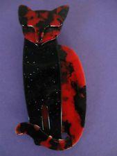 Lea Stein Quarrelsome Cat Brooch Pin Brooch Pin, Cats, Ebay, Jewelry, Brooch, Gatos, Jewlery, Jewerly, Schmuck