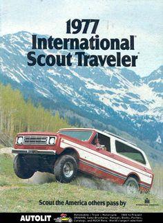 1977 International Scout Traveler Brochure