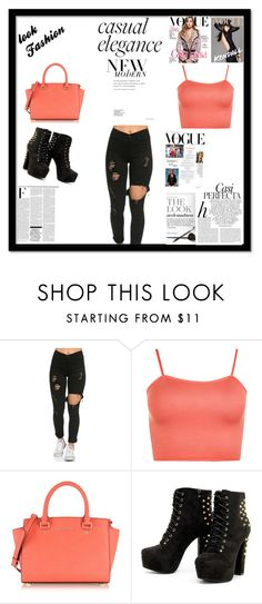 """""""School's in Session"""" by ciaras62 on Polyvore featuring WearAll, Michael Kors, Whiteley and Nicki Minaj"""