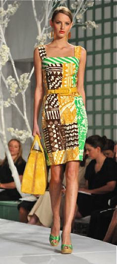 Oscar de la Renta ~Latest African Fashion, African Prints, African fashion styles, African clothing, Nigerian style, Ghanaian fashion, African women dresses, African Bags, African shoes, Kitenge, Gele, Nigerian fashion, Ankara, Aso okè, Kenté, brocade. ~DK