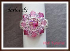 Very cute beaded ring!