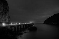 The pier at Trinidad, California
