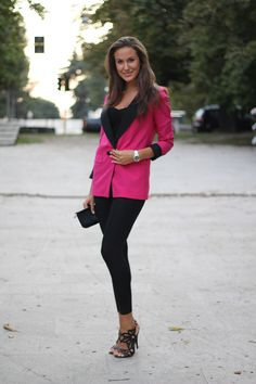 New Post! The Fuchsia tailored jacket.