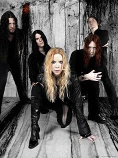 Arch Enemy has legendary guitarist Michael Amott from Carcass. It is one of the few metal bands with a female vocalist. What more could you want? They are getting more popular with each album, and every one is getting more melodic than the last. Although some hardcore metalheads may not like this it is perpetuating their growing popularity.