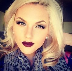 When And How To Wear Dark Lipstick | Make Up #makeup