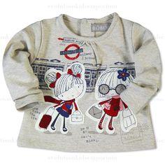 Boboli Girls Underground Railway Fleece Sweatshirt   Evolution Kids Emporium