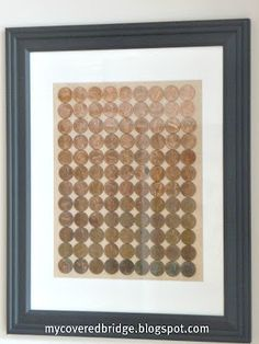 Do with maybe name, letter or msg ..Ombre Penny Art