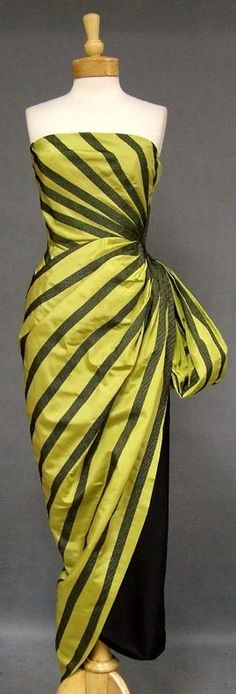 1950's Helena Barieri gown