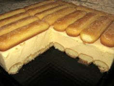 Polish Desserts, Polish Recipes, Cookie Desserts, Cake Recipes, Dessert Recipes, Banana Pudding Recipes, Different Cakes, Sweets Cake, Pudding Cake