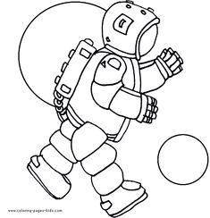 Astronaut Space Aliens color page, fantasy medieval coloring pages, color plate, coloring sheet,printable coloring picture