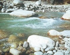Riverside is my soul-place. Where I always found peace.  #manali #beas #himachal