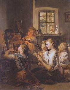 Singing Children, 1858 | In the Swan's Shadow